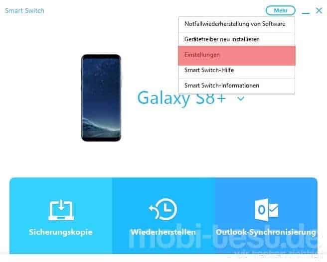 Samsung Smart Switch Anleitung 4 Mobi Test