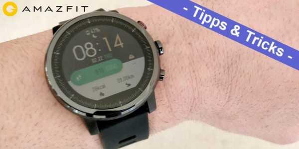 Amazfit Stratos aka Amazfit Smart Sports Watch 2 - die besten Tipps und Tricks