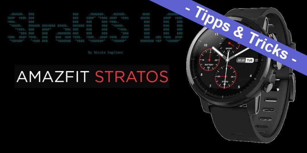 Amazfit Stratos – StratOS ROM installieren
