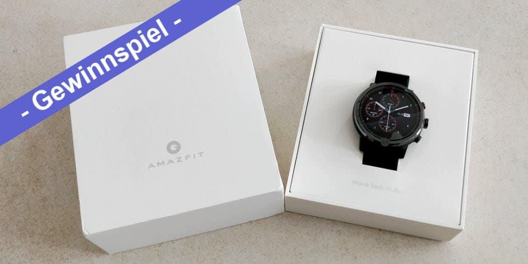 Gewinnspiel – wir verlosen eine Amazfit Stratos Smartwatch