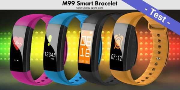Im Test - das M99 Smart Bracelet mit Blutdruckmessung