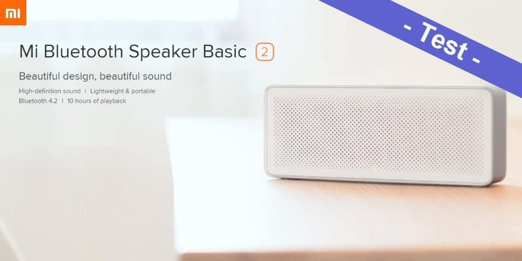 Im Test - der Xiaomi Mi Bluetooth Speaker Basic 2