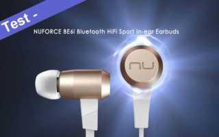 Im Test- das Nuforce BE6i Bluetooth In-Ear Sport Headset