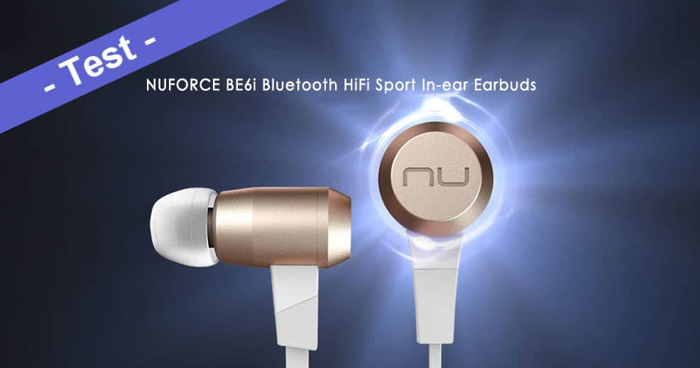im test das nuforce be6i bluetooth in ear sport headset. Black Bedroom Furniture Sets. Home Design Ideas