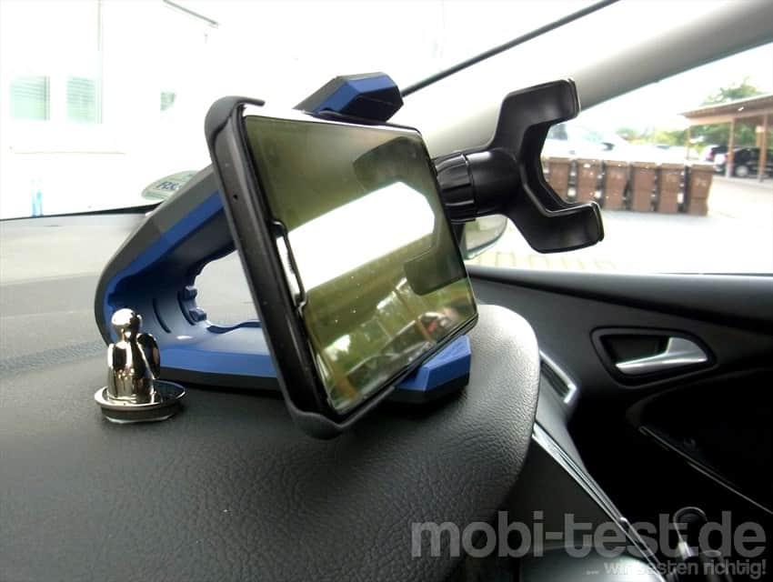 spigen stealth auto handyhalterung 3 mobi test. Black Bedroom Furniture Sets. Home Design Ideas
