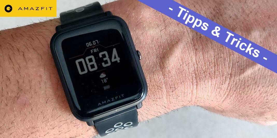 Amazfit Bip - Watchfaces installieren per AmazTools mit iOS