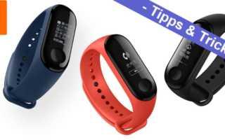Xiaomi Mi Band 3 - die besten Tipps, Tricks und Links
