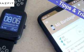 Amazfit Bip – Watchfaces mit Mi Bandage installieren