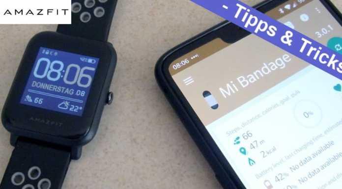 Xiaomi Amazfit Bip Watch Lite Smartwatch Die Besten