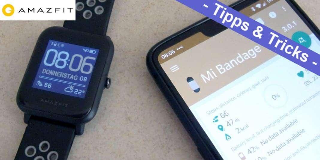 Amazfit Bip - Watchfaces mit Mi Bandage installieren