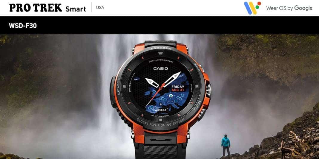 Casio Pro Trek WSD-F30 - so geht Outdoor Smartwatch mit Dual-Display