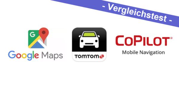 Vergleichstest – Google Maps vs  TomTom Go Mobile vs