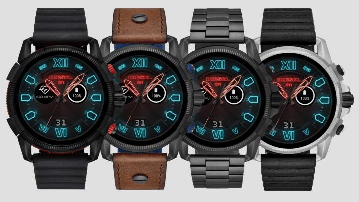 Die neue Full Guard 2.5 von Diesel ist die größte Smartwatch auf dem Markt