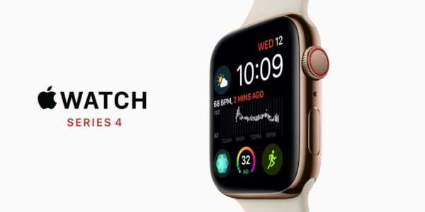 Apple Watch Series 4 - mit größerem Display und EKG