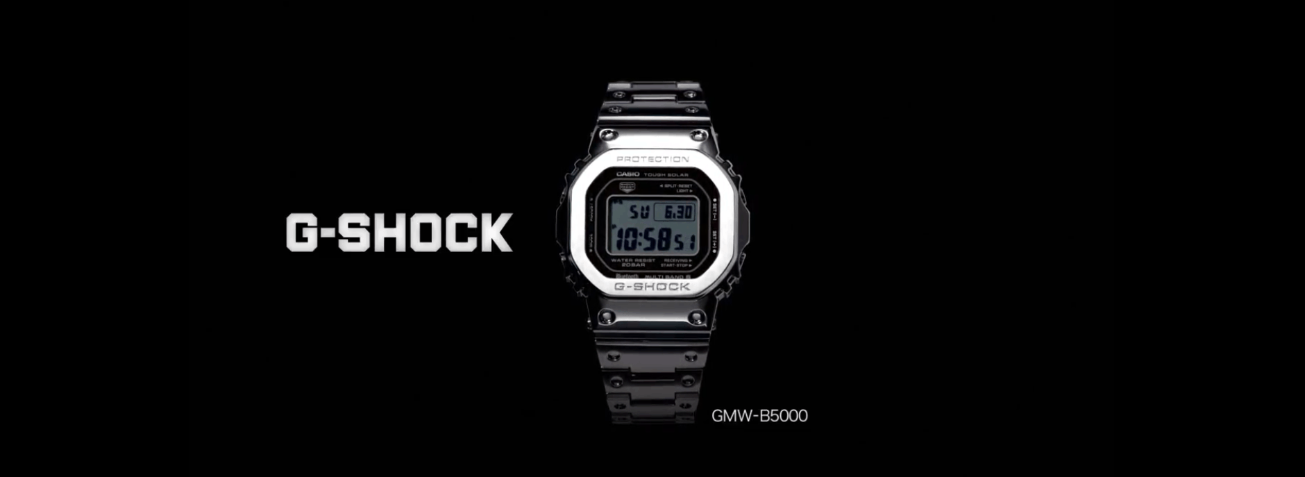 Die erste Casio G-Shock wird Smart