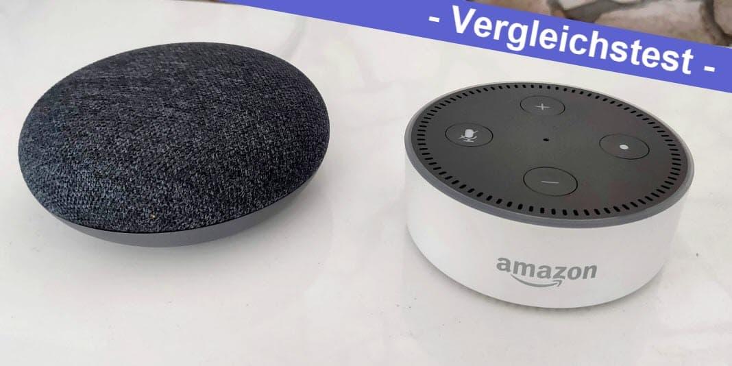 Google Home gegen Amazon Alexa - ein Vergleich aus dem Alltag