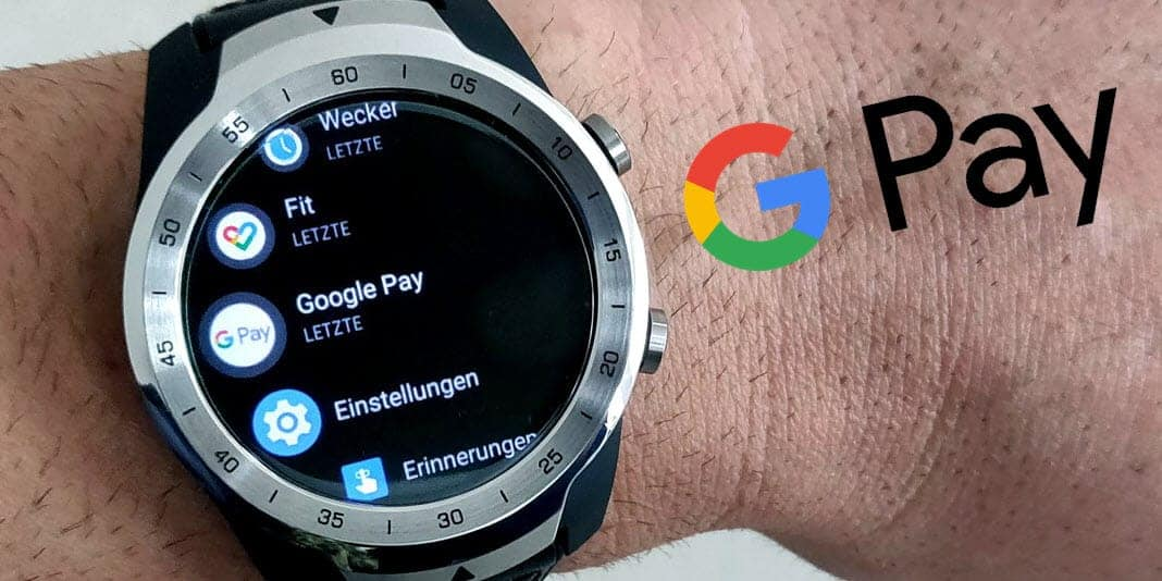 Smartwatch Google Pay