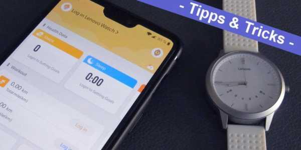 Anleitung Lenovo Watch 9 und Lenovo Watch X Uhrzeit richtig einstellen