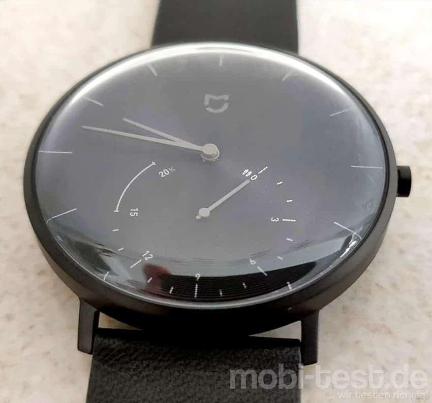 xiaomi mijia quartz smartwatch test dezent und stylisch. Black Bedroom Furniture Sets. Home Design Ideas