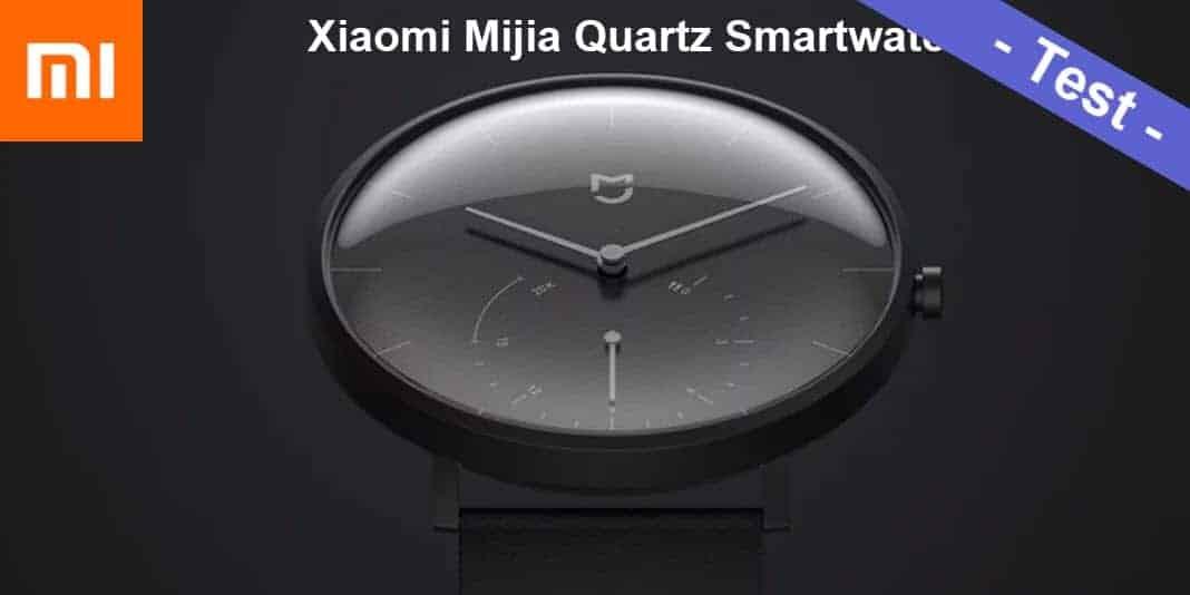Xiaomi Mijia Quartz Smartwatch Test - dezent und stylisch aber auch gut?