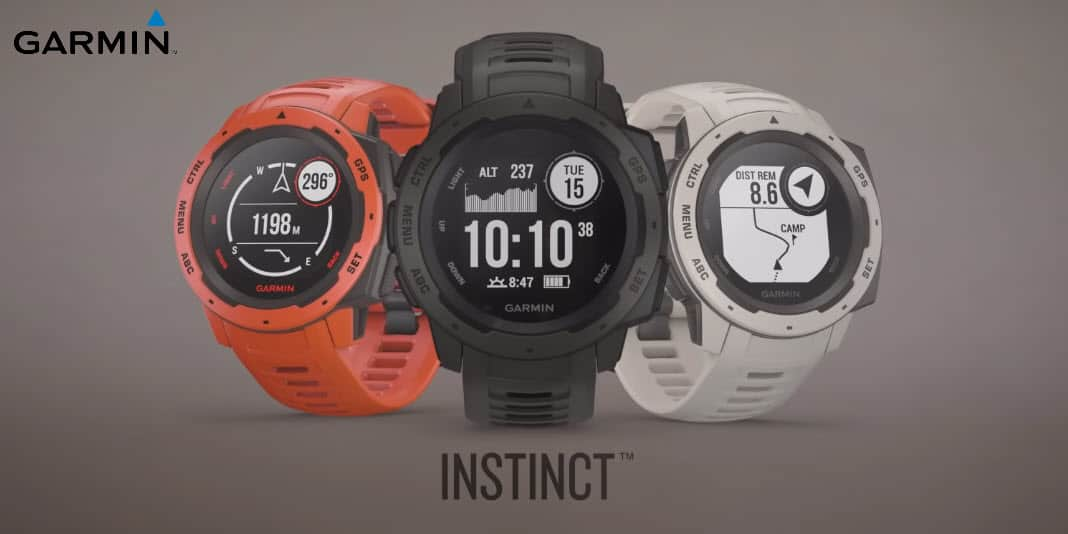garmin instinct eine voll ausgestattete smartwatch f r. Black Bedroom Furniture Sets. Home Design Ideas