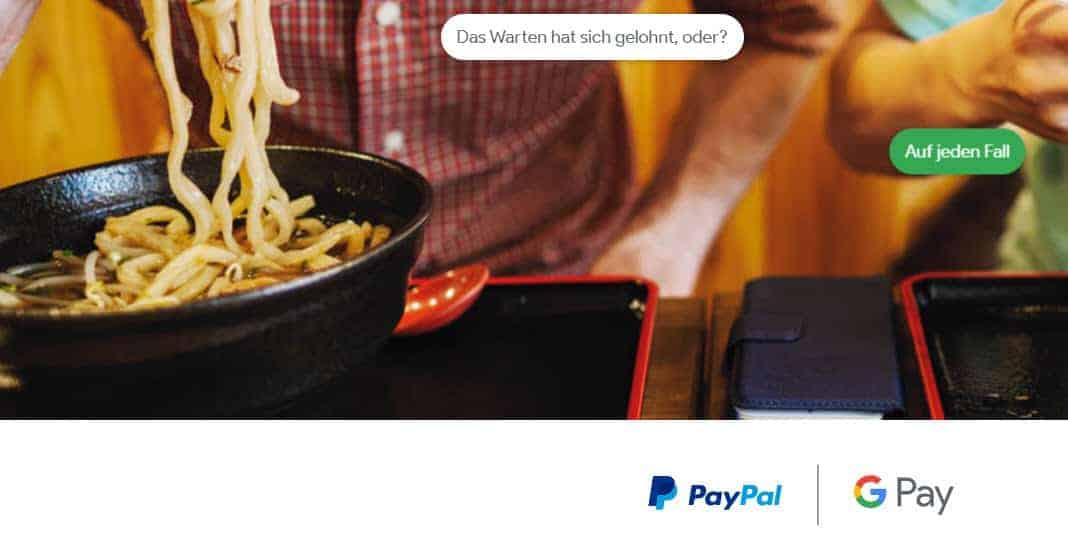 Google Pay und PayPal machen endlich gemeinsame Sache