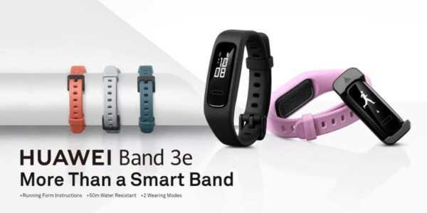Huawei Band 3e und Huawei Band 3 Pro - das sind die beiden neuen Fitnesstracker