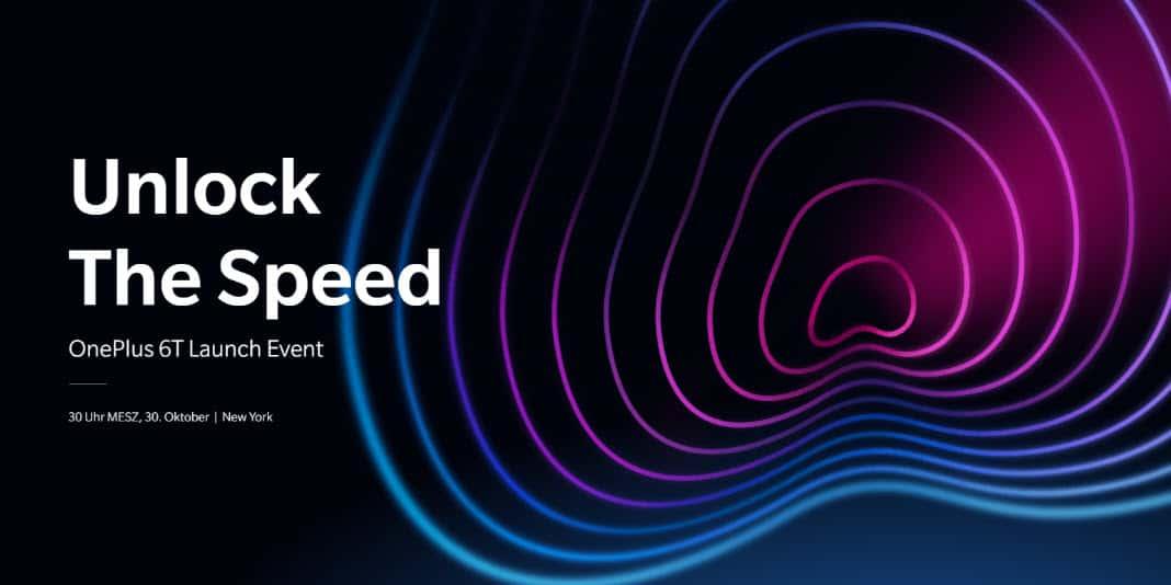 OnePlus 6T Launch Event am 30. Oktober in New York und Neu Delhi