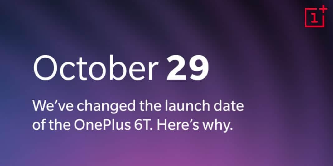 OnePlus 6T Launch Event verschiebt sich - wegen Apple