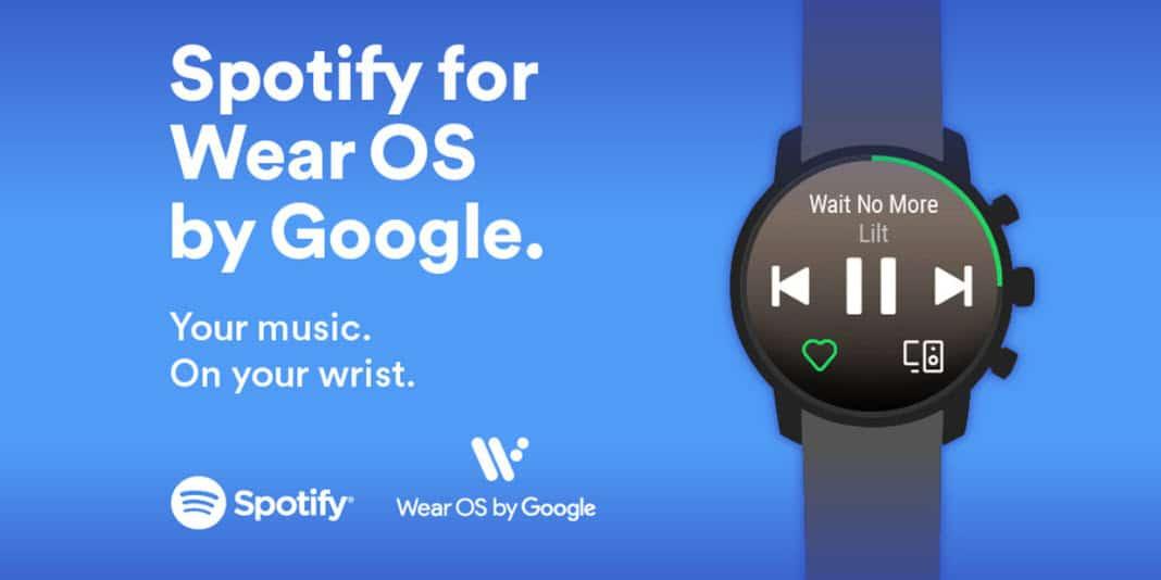 Spotify für Wear OS endlich verfügbar