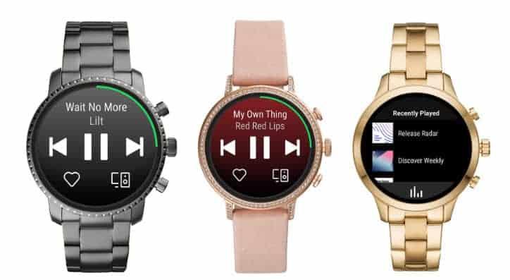 Smartwatch mit wear os
