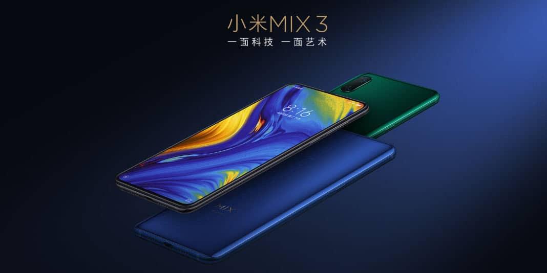 Xiaomi Mi Mix 3 - ohne Notch und der Slider ist zurück