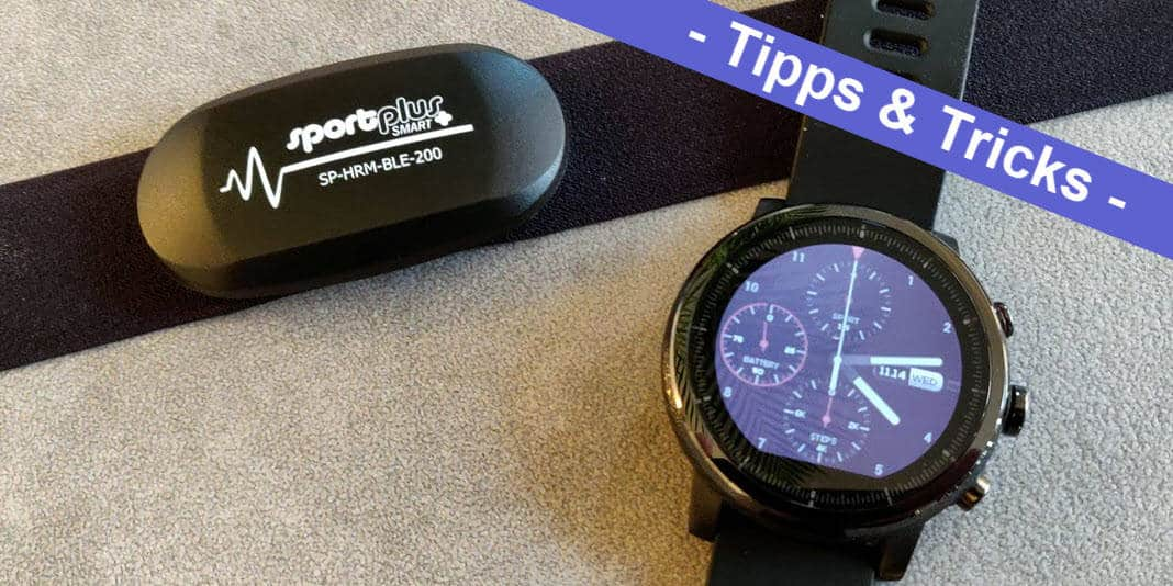 Amazfit Stratos Bluetooth Brustgurt verbinden - so gehts