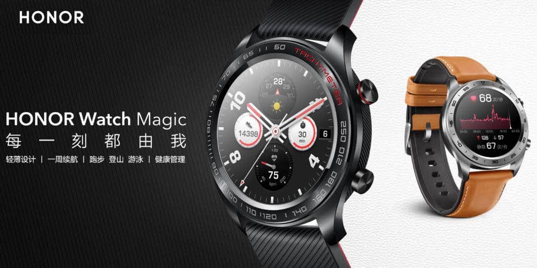 Honor Watch Magic - eine günstige Alternative im Look der Huawei Watch GT