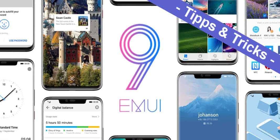 Huawei EMUI 9.0 – die 67 besten Tipps und Tricks