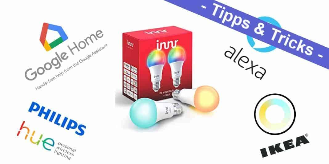 Innr Smart Light - eine Alternative zu Philips Hue und IKEA Tradfri