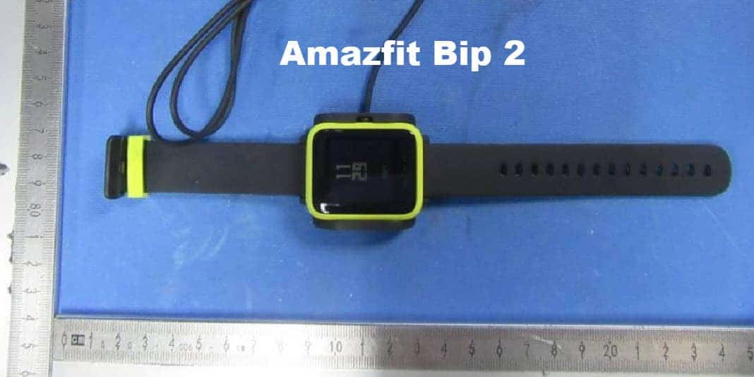 Amazfit Bip 2 erhält die FCC Zulassung