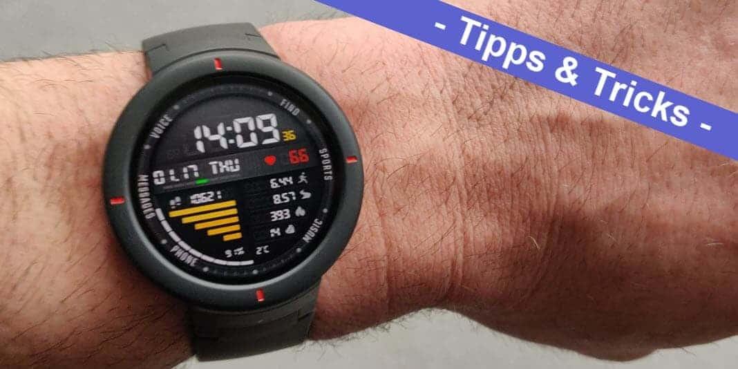 Amazfit Verge - Apps und Watchfaces im APK Format installieren