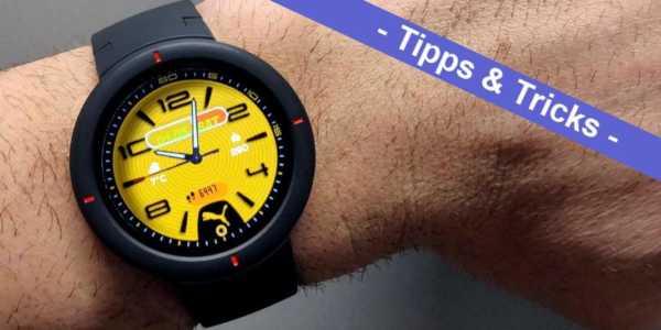 Amazfit Verge Watchfaces installieren - es ist so einfach