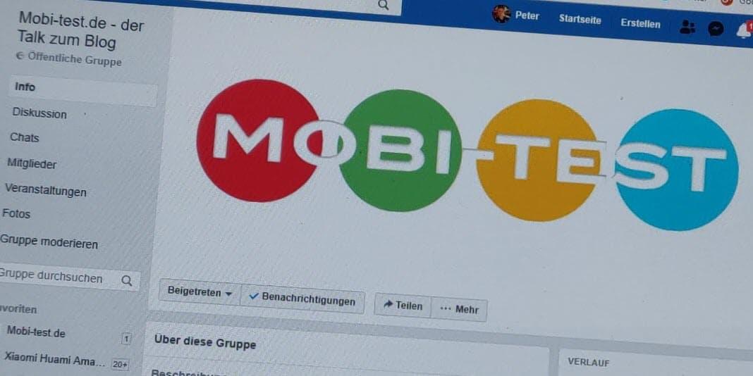 Mobi-test.de - die Gruppe und demnächst auch der Podcast zum Blog