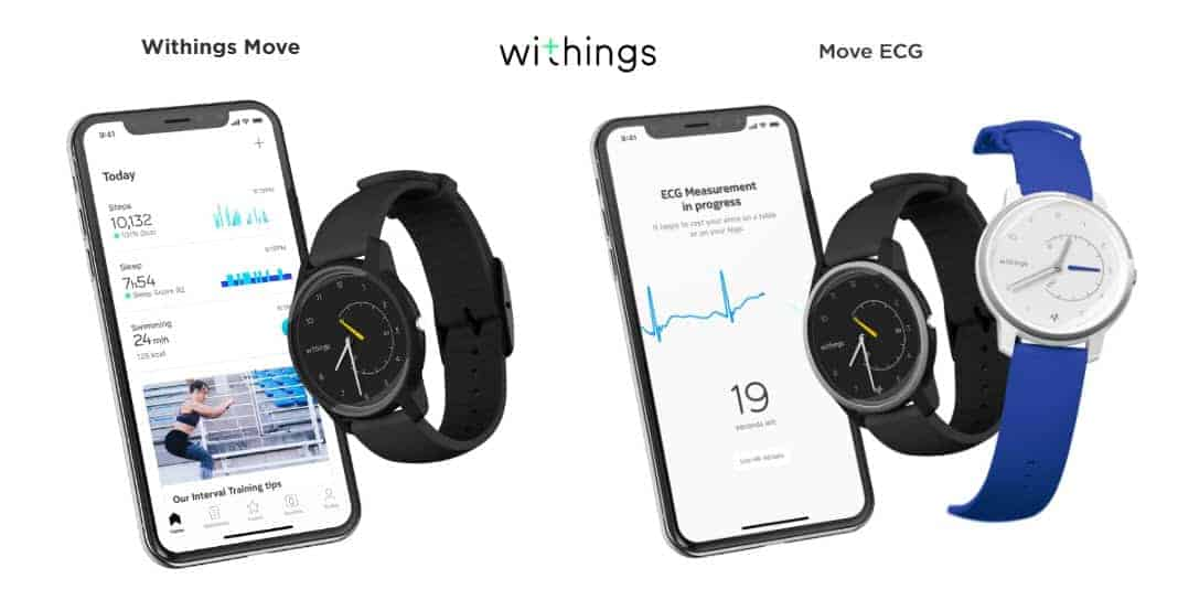 Withings Move und Withings Move ECG vorgestellt