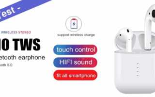 i10 TWS Test – Real Fake AirPods Wireless Bluetooth Headset