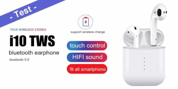 i10 TWS Test - Real Fake AirPods Wireless Bluetooth Headset