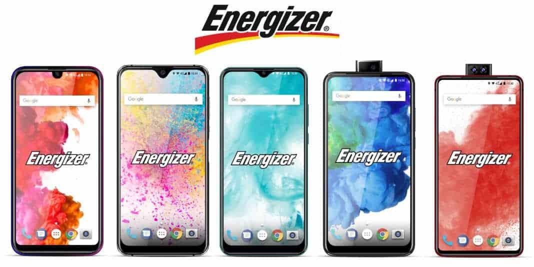 Energizer Smartphones kommen mit Riesenakku und Pop-Up Kamera