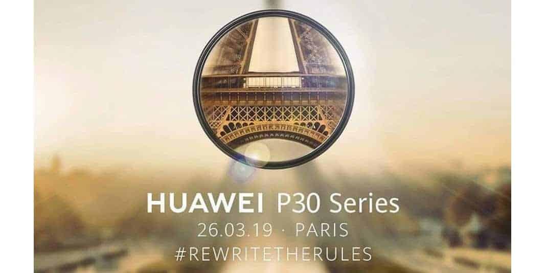 Es ist offiziell - das Huawei P30 und Huawei P30 Pro kommt im März