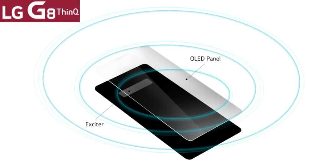 LG G8 ThinQ kommt mit einem Displaylautsprecher