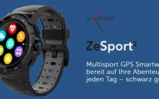 MyKronoz ZeSport 3 – die und noch mehr neue Smartwatches zum MWC