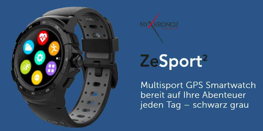 MyKronoz ZeSport 3 - die und noch mehr neue Smartwatches zum MWC