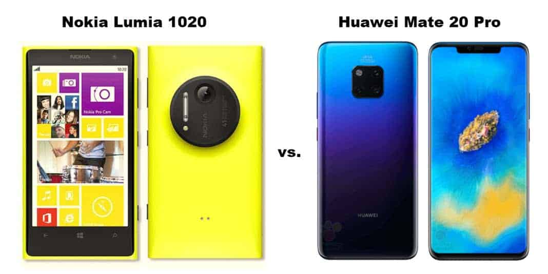 Nokia Lumia 1020 vs. Huawei Mate 20 Pro - Vergleich der Kameras