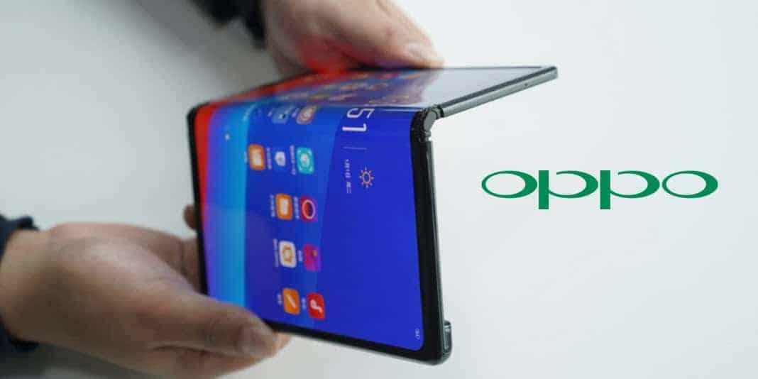 Oppo zeigt ein faltbares Smartphone aber irgendwoher kennt man es schon...